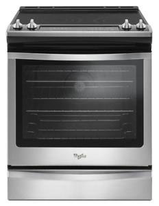 "Whirlpool YWEE745H0FS 30"" Electric Range 6.4 cubic ft"