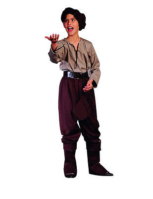 RENAISSANCE BOY PEASANT GOLD MINER SHAKESPEARE PLAY MEDIEVAL CHILD KIDS COSTUME