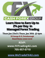 Putting Your Money To Work With Managed Forex Trading