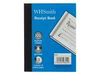 Box (30 books) of W H Smith Receipt Books RRP £45 Brand new in box