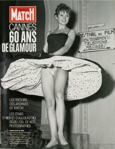 Coupure de presse Clipping 2007 Festival de Cannes 60 ans de Glamour (18 pages)
