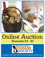 LF auction items for humane society