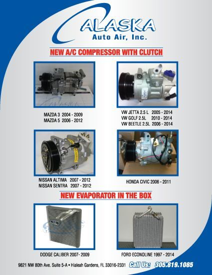 ALASKA Auto Air Conditioning Parts