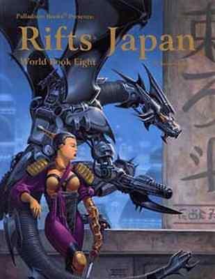 Rifts: World Book 8: Japan $24.95 Value (Palladium Books)