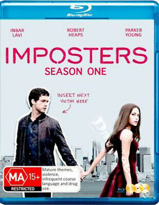 Imposters - Season 1 NEW Cult Blu-Ray 3-Disc Set Inbar Lavi