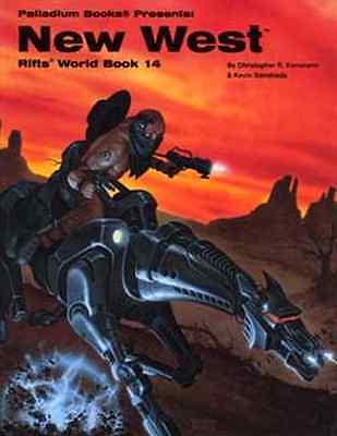 Rifts World Book 14: New West $24.95 Value  (Palladium Books)