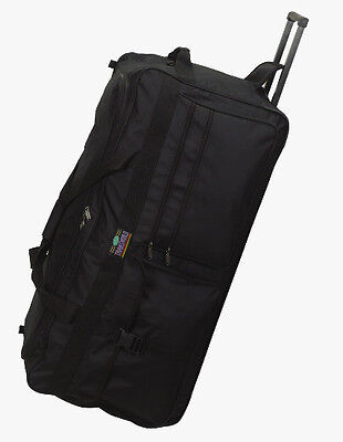 3- Large 36 Inch Rolling Wheeled Duffel Bags Luggage Heavy Duty 5796 Big Travel