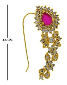 Buy Online Maharashtrian Moti Nath|Diamond Nath