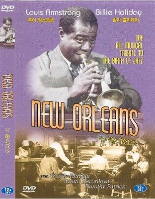 New Orleans (1947) DVD - Louis Armstrong, Billie Holiday (New & Sealed)
