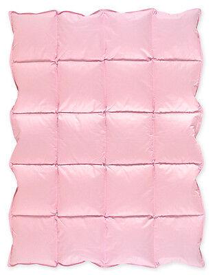 Pink Baby Down Alternative Comforter Blanket Duvet Insert for Crib Bedding Sets