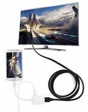 MHL Micro USB to HDMI Cable Adapter HDTV for i9300 i9500 Samsung Northfield Port Adelaide Area Preview