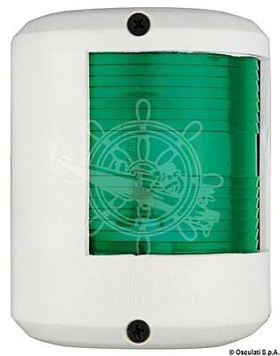 Osculati Utility 78 White Body 112.5 Degrees Right Green Navigation Light 12V