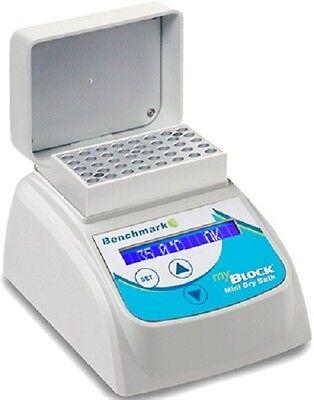 New Benchmark Scientific Bsh200-hl-e Mini Dry Bath W Heated Lid