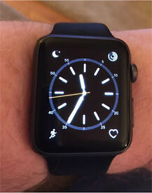 Apple Watch - 42mm, space grey, mint condition