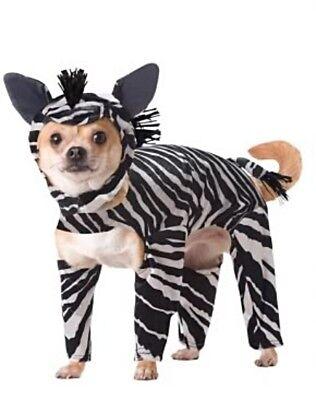 Haustier Hund Katze Lustiges Animal Planet Zebra Hund Kostüm ()