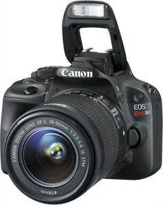 Canon - EOS Rebel SL1 DSLR Camera with 18-55mm IS STM Lens