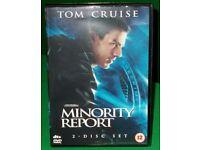 MINORITY REPORT DVD - THRILLER STARRING TOM CRUISE - 12