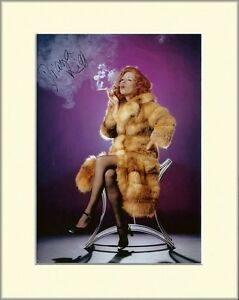 DIANA RIGG THE AVENGERS EMMA PEEL PP MOUNTED SIGNED AUTOGRAPH PHOTO