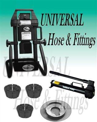 Gates Hydraulic Hose Crimper 4-20 3 Dies Hand Pump Portable Adjustable