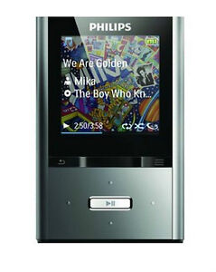 PHILIPS-SA2VBE08K-GoGear-ViBE-8GB-MP3-Player-FM-Radio-AND-Video-Player