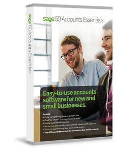 NEW Sage 50 Accounts Essentials 2017 V23 - Perpetual Licence