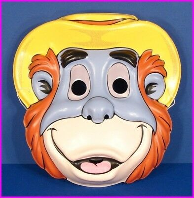 * King Louie Jungle Book Walt Disney Adult Costume Face Mask by Ben Cooper NEW - Jungle Book Costumes Adults