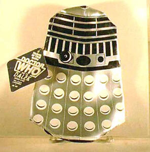 Vintage 1984 Doctor Who DALEK Pencil Case from UK- NEW Condition