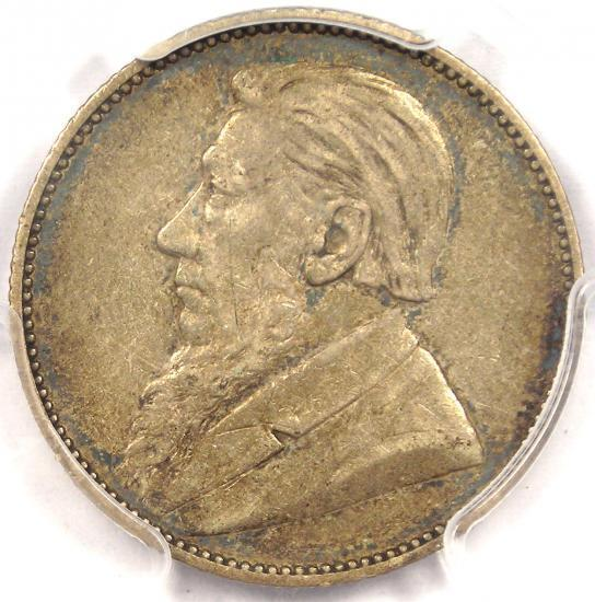 1894 South Africa Zar Shilling - PCGS XF45 - Rare Certified Coin!