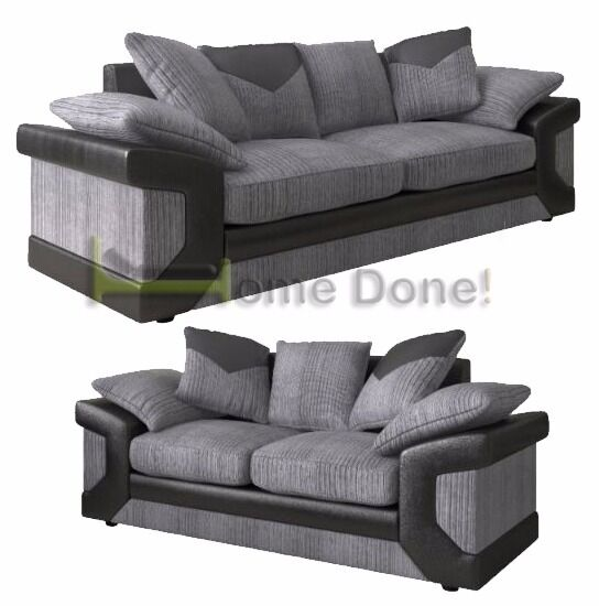 **7-DAY MONEY BACK GUARANTEE!** -Dino Premium Fabric 3 and 2 Sofa Set or Corner Sofa -QUICK DELIVERY