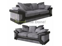 **7-DAY MONEY BACK GUARANTEE!** -Dino Premium Fabric 3 and 2 Sofa Set or Corner Sofa -QUICK DELIVERY