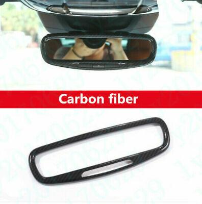 Carbon fiber Inner Rearview Mirror Frame cover For Maserati Levante 2017-2019