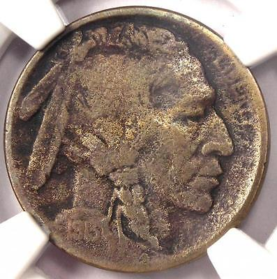 1913-S Type 2 Buffalo Nickel 5C - Certified NGC Fine Details - Rare Type Two - $284.75