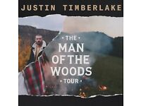 2 Justin Timberlake Tickets Glasgow 7th July £100 each