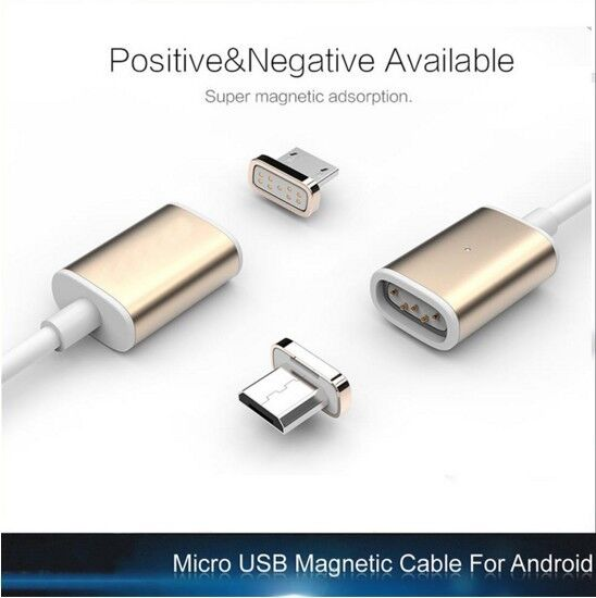 Micro USB to Magnetic Charger Cable Adapter Converter For Android Phones