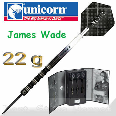"27811 UNICORN Steeldarts JAMES WADE ""NOIR"", 22 g"