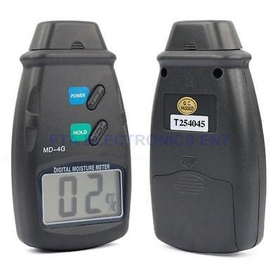 Digital Moisture Meter Wood Timber Damp Tester Detector Water Detection Tool Kit