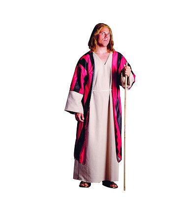 MOSES ADULT COSTUME SHEPHERD RELIGIOUS BIBLICAL JOSEPH JESUS MAN ROBE PLUS SIZE - Moses Costumes