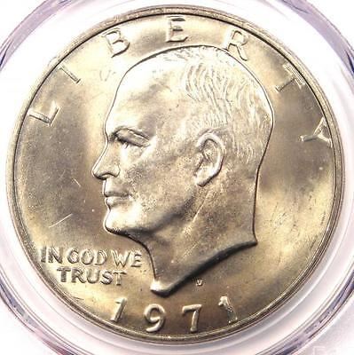 Click now to see the BUY IT NOW Price! 1971 D EISENHOWER IKE DOLLAR $1 CERTIFIED PCGS MS67    IN MS67. $5,500 VALUE