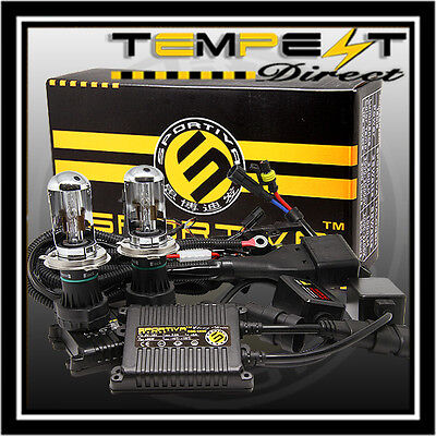 HID Kit Bi Xenon Dual Beam Slim Digital AC 9003 9004 9007 H4 H13 W Relay Cable D