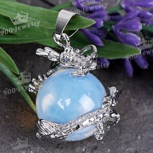 1PC-Opalite-Opal-Dragon-Ball-Round-Gem-Wrap-Bead-Pendant-Fashion-Jewelry-Hot