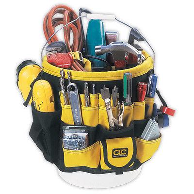 CLC Custom LeatherCraft 4122 Five Gallon Bucket Organizer 61 Pocket Tool Holder