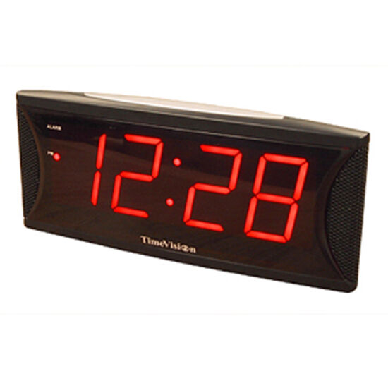Jumbo Super Loud Alarm Clock With 2 Inch Red Led