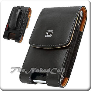 fr-SAMSUNG-I910-I900-OMNIA-BLACK-LEATHER-CASE-POUCH-NEW