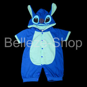 One-Piece-Jumpsuit-Stitch-Fancy-Party-Costume-Outfit-Baby-Infant-Sz-3m-18m-FC026