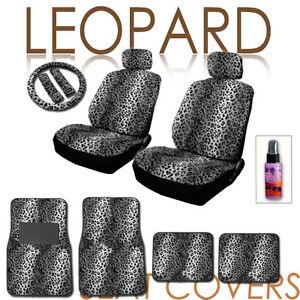 leopard print car ebay. Black Bedroom Furniture Sets. Home Design Ideas