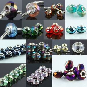 Wholesale-Faceted-Crystal-Glass-Loose-Spacer-Beads-Fits-European-Charms-Bracelet