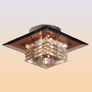 Modern Crystal 3W LED Ceiling Light Pendant Lamp Fixture Lighting Chandelier new
