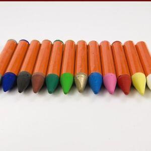 12 vivid fabric dye sticks crayons pastels permanent craft textile painting art ebay. Black Bedroom Furniture Sets. Home Design Ideas