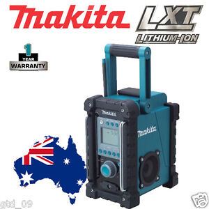 Makita-18v-Li-ion-Cordless-Job-Site-Radio-Stereo-iPod-AM-FM-BMR100-12-Mths-Wty