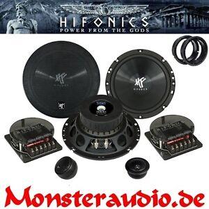 Hifonics-Lautsprecher-VW-Bora-New-Beetle-Passat-B5-3B-3BG-Variant-Polo-9N-165mm
